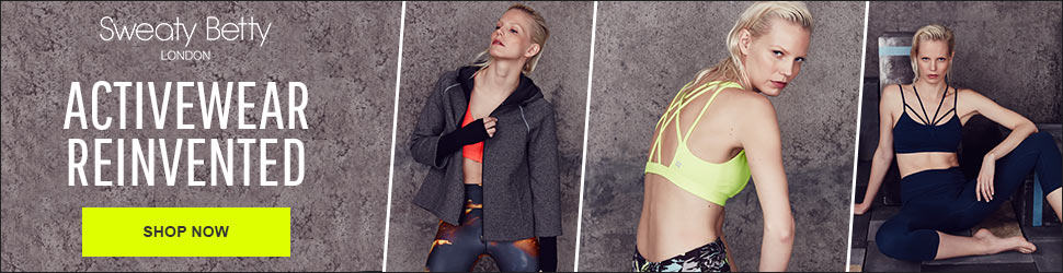 Sweaty Betty 970x250 Fitness Ads